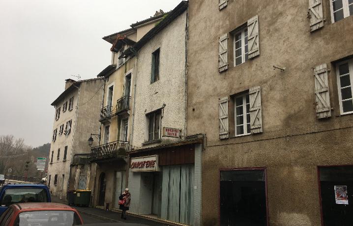 Déconstruction des immeubles 9001, 26 et 42 rue du Pont Neuf à Cahors