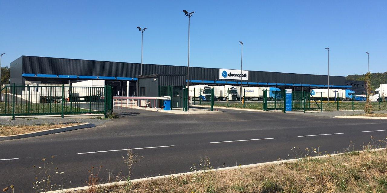 Construction d'un hub logistique