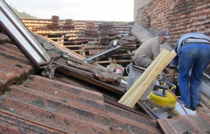investissement immobilier à Cahors - travaux de rénovation - isolation toiture