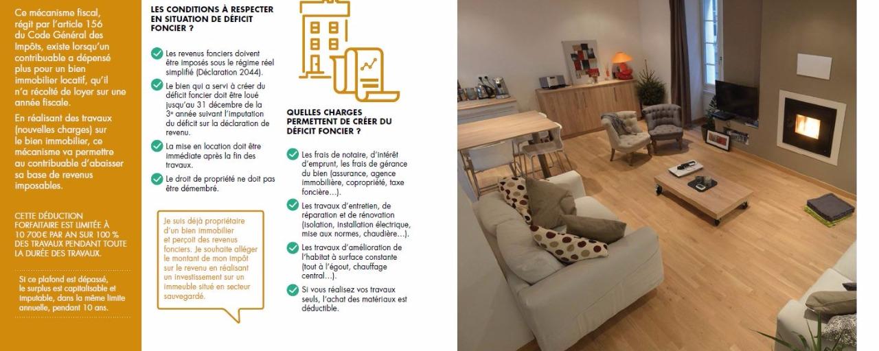 déficit foncier - investissement immobilier à Cahors