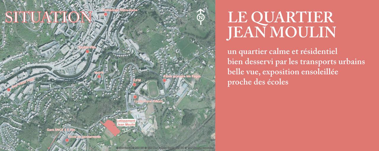 Lotissement Jean Moulin - Terrains disponibles