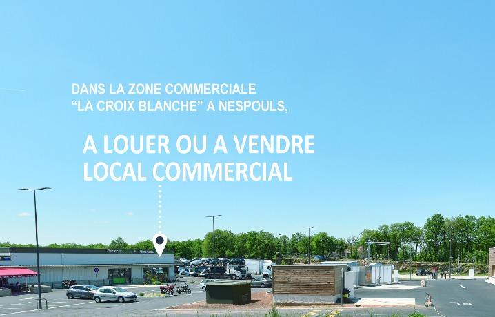 Nespouls local commercial à Louer ou à vendre