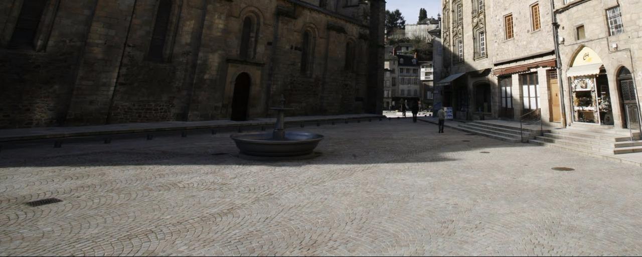 aménagement cathédrale de Tulle