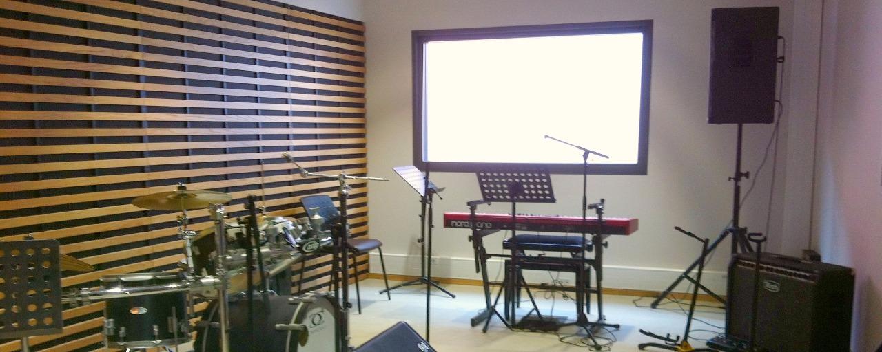 salle de répétition Les studios Brive