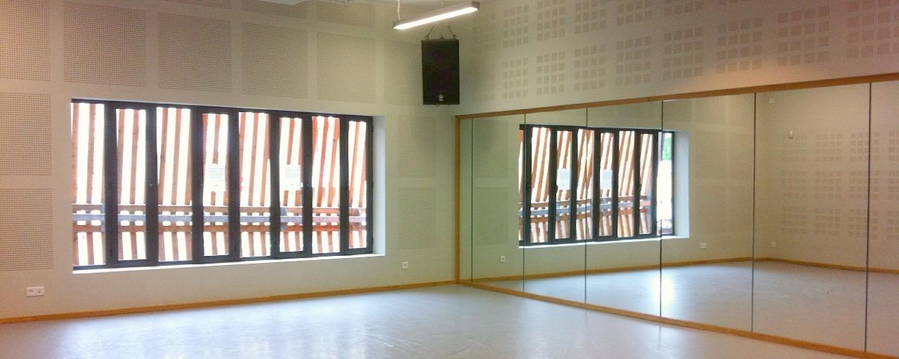 intérieur salle de musique actuelle Brive