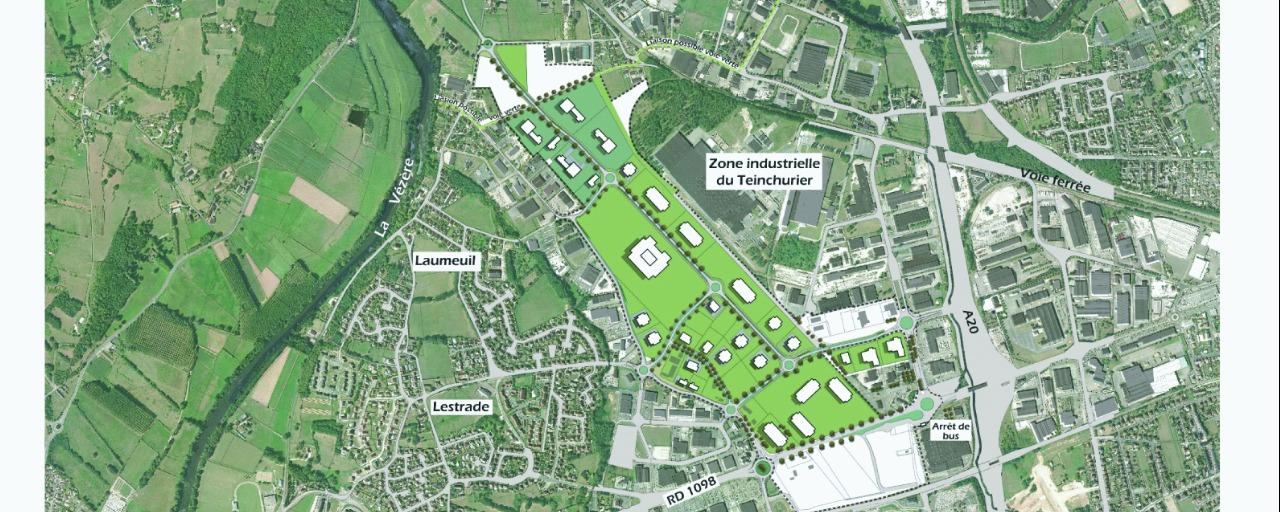 schéma d'aménagement de la zone de Brive Laroche