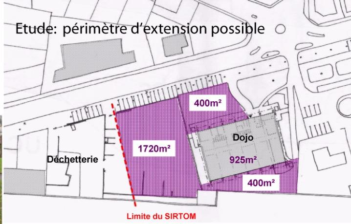 Etude programmation pour l'extension du Dojo à Brive
